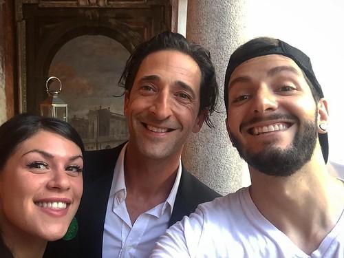 Selfie time with @adrienbrody & @evy_lye 😎☀️😎 #locarno70 #locarnofestival #locarnofilmfestival #adrienbrody