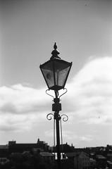 Lamp (bigalid) Tags: film 35mm ferrania p30 alpha bw lince 3 dumfries june 2017 lamp devorgilla bridge
