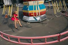 Odessa, Ukraine (f.d. walker) Tags: easterneurope europe odessa ukraine girl girls people candidphotography candid color colorphotography colors city child children streetphotography street sunlight shadow surreal park themepark carnival fair ride rides alone lonely solo soviet sovietunion