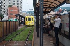 Nagasaki tram (8) (White_Dragon_09) Tags: angenieux retrofocus 3525 r1
