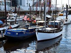 Bremen Vegesack Harbor (robárt shake) Tags: bremen vegesack hafen schiffe ship boat river water harbor harbour hafendorf dörflich nostalgisch nostalgic kutter fischkutter ruhig beschaulich ansehnlich seefahrt stadtbild