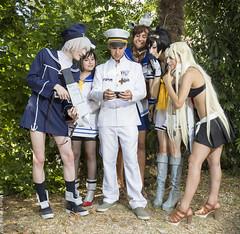 _MG_8949 (Mauro Petrolati) Tags: kancolle kantai collection cosplay cosplayer 2017 z1 ammiraglio admiral yukikaze akizuki yuudachi