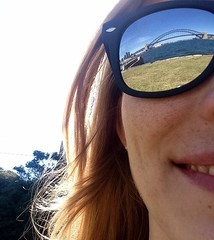 My beloved view (doubleshotblog) Tags: sydney australia mcmahonspoint harbourbridge operahouse firstshot glassesselfie sunglasses doubleshotblog reflection onelove