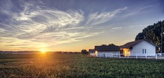 A rare spectacle of nature is about to happen (PeterThoeny) Tags: weiser idaho sunrise sun day dawn farm farmhouse field sony nex6 selp1650 3xp raw photomatix hdr qualityhdr qualityhdrphotography sky landscape fav200