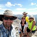 Our summit selfie on Ruby Dome