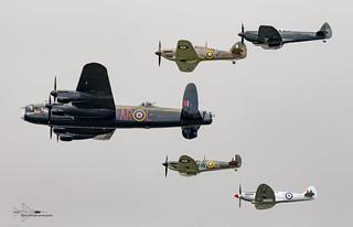 RAF Battle of Britain memorial flight (BBMF)