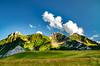 Bargy's string (artupp) Tags: mountain rock height vegetation nature altitude blooming spring sky cloud wild landscape montagne roche hauteur floraison printemps ciel nuage sauvage paysage sapin chemin bargy cenise bleu blue