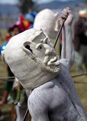 mudman double sided mask (kthustler) Tags: goroka singsing papuanewguinea tribes huliwigmen mudmen