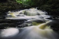 Upper Delaware Falls (wilbias) Tags: park waterfall falls cascade stream flow waterscape state pennsylvania rapids brook creek delaware waterflow glen ricketts