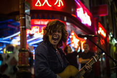 Twist & Shout! - Chinatown, London - Leica M10 (Sparks_157) Tags: amit leica leicam10 london amitkar chinatown city citylife guitar musician neonlights night passion performer rangefinder singing soho street streetlife streetlights streetphotography streetscene summilux travel travelphotography urban england unitedkingdom busking busker 50mmf14summilux explore