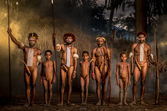 The Dani Tribe (tehhanlin) Tags: indonesia papua wamena irianjawa dani danitribe tribe isolated honai portrait humaninterest culture people travel visitindonesia sony ngc