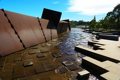 Cranbourne RBG Aug 2017 16 (Graeme Butler) Tags: water landscape history gardens australianplants architecture victoria australia