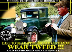 Modern Clothes Are So Boring r tweed Part 11 (MemoryCube5000) Tags: tweedjacket tweedcap retro vintage cap tweed harris cheesecutter flat nz kiwi cars car auto autos vehicles vehicle transport dapper man mens gent gents distinguished thetweedrun needfortweed canon outdoor poster art oldschool cavalrytwill wearingtweed rally show club invercargill dunedin oamaru christchurch nelson wellington wanganui plamerstonnorth newplymouth hastings napier gisborne rotorua tauranga auckland hamilton whangarei queenstown vintagecarclub oldcar canterbury otago sydney london scottish uk english melbourne country
