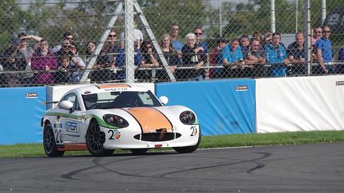 Ginetta GRDC+ at British GT Championship 2017 Donington Park - Steve Birt