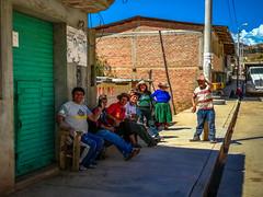 The town folk of Llipa Nuevo who enjoyed the violin music.