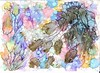 Alcohol inks on yupo paper (bloomingpainting) Tags: alcoholinks yupopaper southsea painting inkart inks