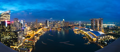 Singapore city (anekphoto) Tags: singapore city night skyline asia bay marina district view modern urban landmark exterior cityscape evening business tourism architecture famous dusk lights twilight sky light water sea dark town roof top landscape hotel tower river downtown skyscraper waterfront sunset travel scene building culture structure southeast east traffic stadium blue rooftop bar