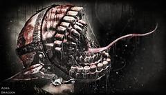 The Insane... (_Adra Braeden_ *Client List CLOSED*) Tags: contraption horror evil dark blood gore aitui drool shriek scream monster residentevil teeth nightmare brain creep creeps aii tongue