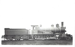 "Great Eastern Railway (UK) - GER Class 527 2-6-0 steam locomotive Nr. 527 ""Mogul"" (Neilson Locomotive Works, Glasgow 1878) (HISTORICAL RAILWAY IMAGES) Tags: ger steam locomotive neilson mogul 260"