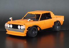 Toyota Celica 1970 (LegoMarat) Tags: lego creator modelteam rc buwizz