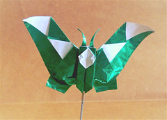 Mr butterfly (Djangorigami) Tags: origami art butterfly tortoise fold paper