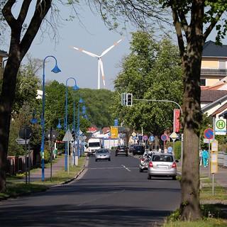 Hauptstraße in Bestensee
