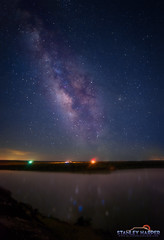 The Art Of Night At Lake Etling (Black Mesa Images) Tags: astrophotography black cimarron country county etling exposure harper images lake landscape level lighting long low mesa milky night nightscape oklahoma perseids photography rural sky stanley stars texas way