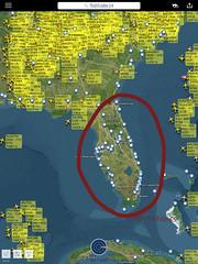 Hurricane Irma passing at this moment Naples Florida. No air traffic. (PictureJohn64) Tags: picturejohn64 orkaan america amerika radar flightradar24 fr24 disaster nature usa florida storm hurricane irma