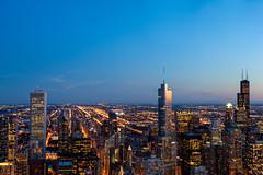 Downtown Chicago (hotdog.aviation) Tags: 360chicago downtownchicago chicago trumptower searstower hancockbuilding hancockbuildingobservationdeck