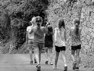 Balade entre filles