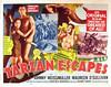 Tarzan Escapes (1936, USA) - 03 (kocojim) Tags: maureenosullivan illustrated kocojim poster johnnyweissmuller publishing advertising film illustration motionpicture movieposter movie