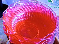Enumerating Series... (Chic Bee) Tags: colorful interesting fluted glass plates surreal abstract art photographicart pink purple blue mathematics arithmetic geometrical wavy mathematicalprogression beauty beautiful enumerating series