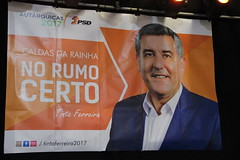 Autárquicas 2017: José Matos Rosa nas Caldas da Rainha