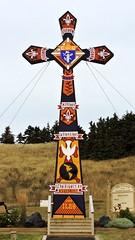Large cross, front view (Will S.) Tags: canada mypics îlesdelamadeleine havreauxmaisons québec knightsofcolumbus chevaliersdecolomb kofc cdec catholic romancatholic fraternal service organization cross magdalenislands