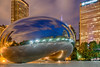 "I've ""bean"" to Chicago (Part 2 of 4) (tquist24) Tags: attplaza chicago cloudgate hdr illinois nikon nikond5300 thebean architecture bluehour buildings city clouds geotagged lights longexposure morning park reflection reflections sculpture selfie sky skyscrapers unitedstates millenniumpark"