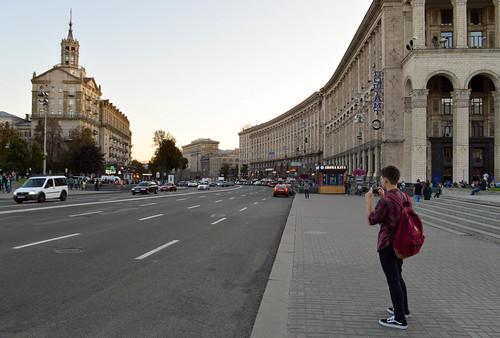 Kreschatyk street
