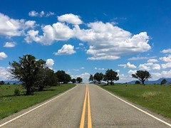 The Coronado Trail in between Morenci and Alpine, Arizona (Matt McGrath Photography) Tags: clifton arizona unitedstates road yellowline whiteline apachesitgreavesnationalforest apachenationalforest southeastarizona coronadotrail