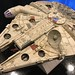 Millennium Falcon Cutaway - Top on