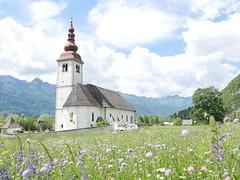A classical church, Slovenia