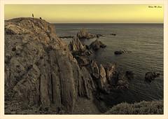 Arrecife de las Sirenas (Cabo de Gata - Almería) (Jose Manuel Cano) Tags: almería cabodegata españa spain costa coast roca rock mar sea agua water paisaje lanscape nikond5100