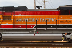 Southern Pacific at Pacific, MO (tim_1522) Tags: railroad railfanning rail missouri mo unionpacific up southernpacific sp heritage 1996 sd70ace emd pacific jeffersoncity sub subdivision pacificrailroaddaysfestival2017