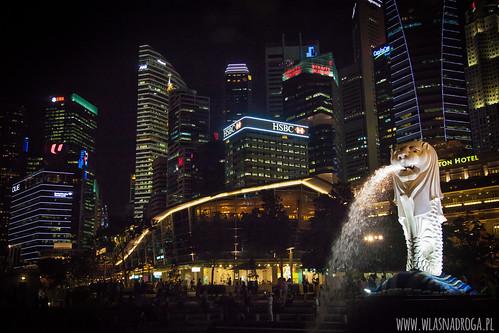 Merlion - symbol Singapuru