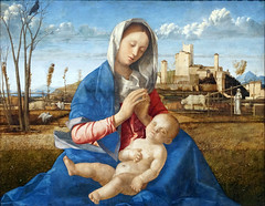 Bellini, Madonna of the Meadow (profzucker) Tags: giovannibellini bellini nationalgallery 1500 london venice venetian renaissance painting italian madonnaandchild