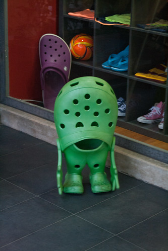 That's Mr Croc!