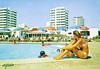 Torralta Algarve, Portugal (Thomas Hawk) Tags: portugal torraltaalgarve vintage bikini motel pool postcard swimingpool fav10 fav25 fav50