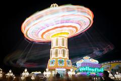 Lichtspiel auf dem Kramermarkt