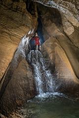 Cascade du Chateau de la Roche - Chamesol (25) - France (Romain VENOT) Tags: caving spéléologie caves grottes cavités sainthyppolite chamesol doubs franchecomté france rivièresouterraine eau cascades waterfall nikon d5300