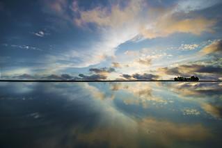Cloudscape Reflection