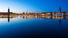 Untitled (sk_husky) Tags: riddarholm church stockholm sweden city water reflection sky dusk sunset night landscape beauty beautiful canon 6d outdoor longexposure waterfront nightlights architecture watercourse skyline