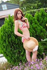 Sherry0004 (Mike (JPG直出~ 這就是我的忍道XD)) Tags: sherry 自來水博物館 d300 model beauty 外拍 portrait 2014 swimsuit 泳裝